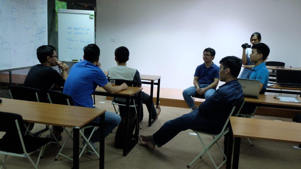 Học viên chia sẻ cảm nhận về khóa học